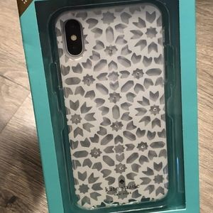 KATE SPADE Jeweled Floral mosaic Iphone x case